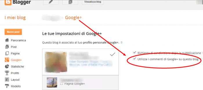 Come inserire i commenti di Google Plus al Blog