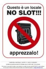 Giornata contro le Slot Machine #noslot