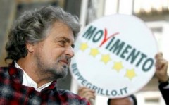 grillo torna in tv