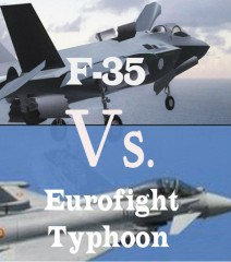 F 35 vs. Eurofighter Typhoon come risparmiare il 50%