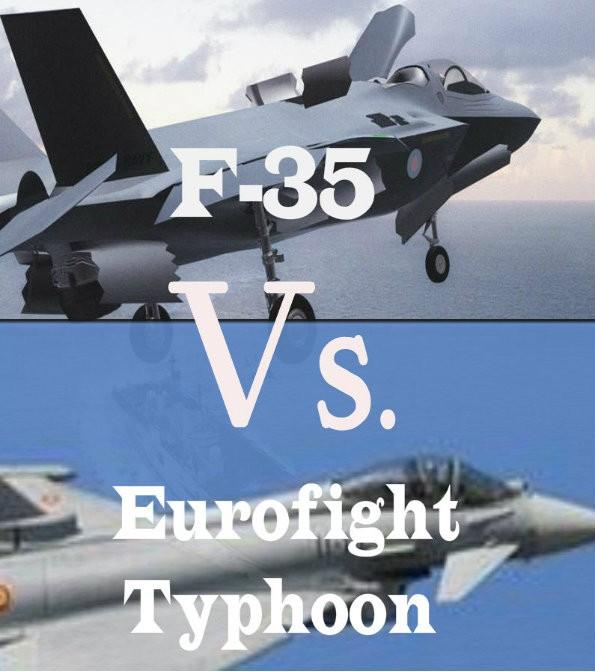 F-35 vs. Eurofighter Typhoon? Ecco come risparmiare il 50% ...