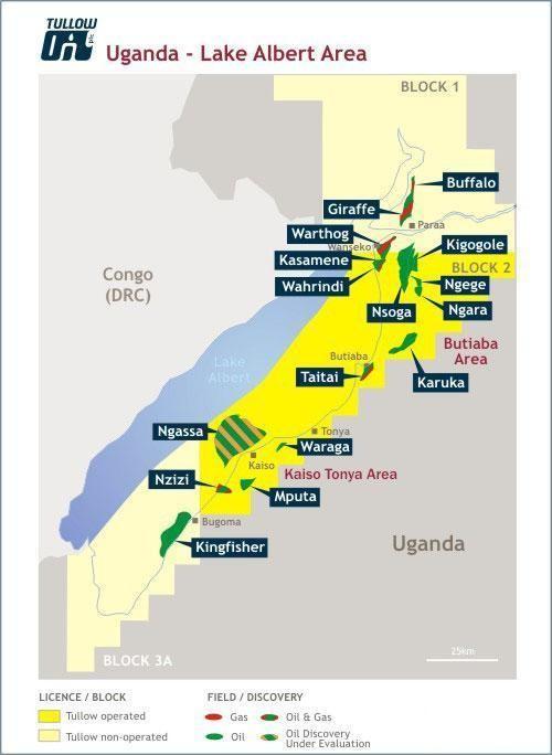 petrolio in uganda