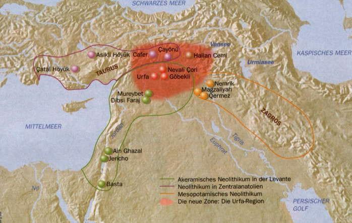 goblekli tepe cartina geografica